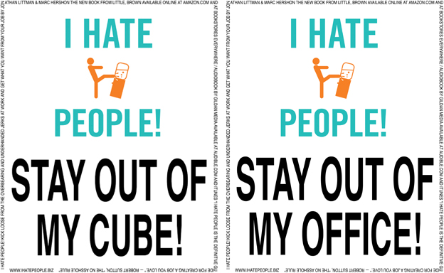 Cube & office out signs sm